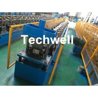 China Steel Metal Gutter Roll Forming Machine For Making Rainwater Gutter & Box Gutter With PLC Frequency Control wholesale