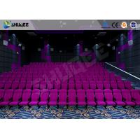 China Sound Vibration Cinema 3D Movie Theater System With Shock Effects Seats wholesale