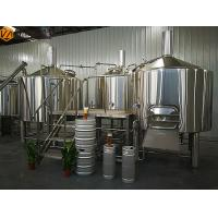 Quality Economical Complete Automated Brewing System 3 Vessels Machine For Winery for sale