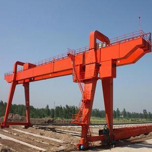 China Box Type 30 Ton / 50 Ton Double Girder Overhead Crane For Construction Building on sale