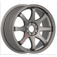 China Machine Cut Face 17 Inch Alloy Wheels, Full Painted Chrome Car Alloy Wheel wholesale