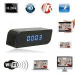 T8S 720P Alarm Clock WIFI P2P IP Spy Hidden Camera Home Security CCTV Surveillan