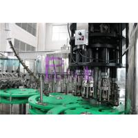 China 3 In 1 Glass Bottle Drinking Water Filling Plant With Full Automatic PLC Control wholesale