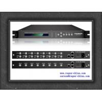 Buy cheap Eight-Channel Professional Receiver IPTV System Headend DVB-C ATSC ISDB-T DVB-S/S2 DVB-T/T2 input optional product