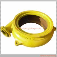 China Customized Gravel Suction Pump With Rubber Liners / High Chrome Alloy Liner wholesale
