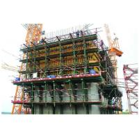 Quality Cylinder Lifting Climbing Scaffolding System Galvanized Guide Rail Climbs Simple for sale