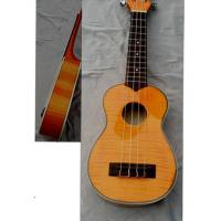 China Archaized Flamed Maple 4 String Hawaii Guitar Ukulele 21 inch AGUL15 wholesale