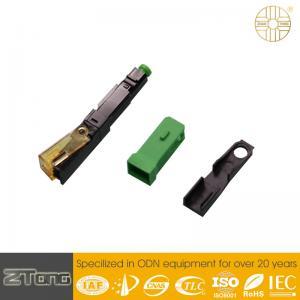 China High Level UPC Fiber Connector , Plastic Optical Fiber Connectors Rainproof wholesale