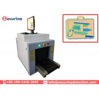 China Small Size X Ray Baggage Scanner Single Energy Small Parcel Metal Detector Conveyor wholesale