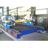 China CNC Gantry Type Gas and Plasma Cutting Machine with High Definition Plasma Source wholesale