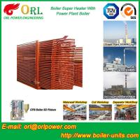 China Convection Superheater Coils Steam Super Heater In Boiler Anti Corrosion wholesale