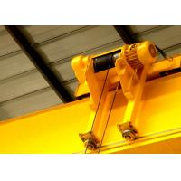 Quality Single Beam Travelling Overhead Crane , Low Headroom Bridge Crane With End Carriages for sale