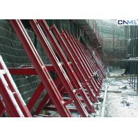 China Convenient Concrete Retaining Wall Formwork Single Sided High Security on sale