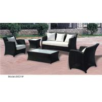 China 5-piece outdoor rattan Wicker classic high back sofa with end table -9031 wholesale