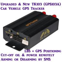 China GPS103A Global Car AVL Vehicle GPS SMS GPRS Tracker W/ Cut-off & Resume Oil & Power by SMS wholesale