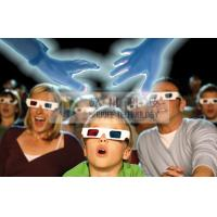 China Thrilling 3D 4d 5D 6D 7D movie , 4d dynamic cinema 4d system with 5.1 audio system Circular curved screen wholesale