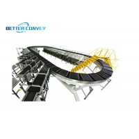 China Cycling Postal Cross Belt Sorter For Courier CEP wholesale