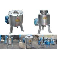 China Centrifugal Cooking Oil Filtration Machines , Soybean / Peanut Oil Filter Machine on sale