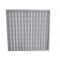 China Indoor Residential Pleated Panel Air Filters For Clean Room , High Dust Capacity wholesale