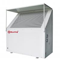 China Outdoor Domestic Air Source Heat Pump , Ground Source Heat Pump Compact Structure wholesale