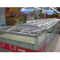 China Big Shopping Mall Supermarket Island Freezer Remote Cooling System Combine Type wholesale
