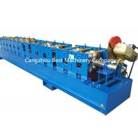 China Hydraulic Down Spout Roll Forming Machine For Round And Square Pipe wholesale