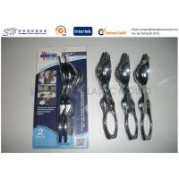 China Injection Molded Products Eating Utensil Fork + Spoon + Knife + Bottle Opener for The Disabled on sale