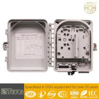 China PC+ABS Material Fiber Optic Distribution Box 6-12 Core Double Layer Design wholesale