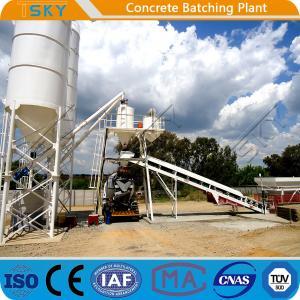 China Environmental Friendly HZS35 35m3/h RMC Batching Plant wholesale