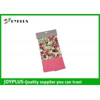 China Non Woven Microfiber Cleaning Cloth Wth Printed Pattern Customized Color / Size wholesale
