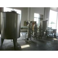 China Stainless Steel Pure Water Treatment Machine / Line , Water Filtration System 220/300V wholesale