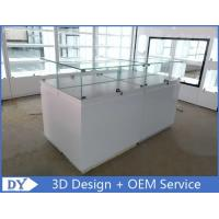 Buy cheap Simple Wood Jewelry Display Case For Jewelry Showroom Display from wholesalers