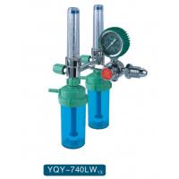 China Gas Pressure And Gas Volume Adjustment Medical Oxygen Regulator Male / Female Connector wholesale