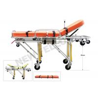 China Detached Wheeled Patient Transport Stretcher Stainless Steel Stretchers wholesale