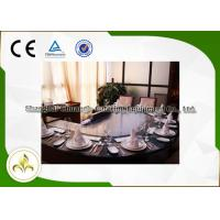 China Electromagnetic Heating Arched Shape Teppanyaki Grill Table With Ten Seats CE Approved wholesale