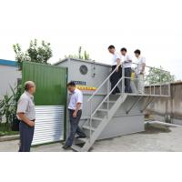 China MBR Water Treatment and Sewage , Membrane filtration compact design 25 - 720m³/d  Capacity on sale
