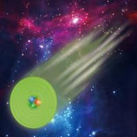 China Pet toys Sound And Light Ball Starry sky sound and light Frisbee Pet training wholesale