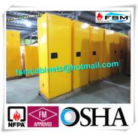 China Fireproof Industrial Safety Cabinets 22 Gallon For Laboratory Flammable Liquid wholesale