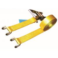 Open Hook Over The Wheel Tie Down Straps , Commercial Tie Down Straps 2500 DN LC