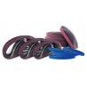 China 2 By 72 Abrasive Sanding Belts , 600 Grit  1000 Grit Sanding Belt For Wood Steel wholesale