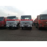 Buy cheap Cargo Truck Chassis Capacity 25 - 40 Tons SINOTRUK HOWO ZZ1257N4641W TR691 Tyre from wholesalers