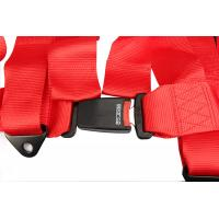 China Easy Using Anti - Fade Vehicle Seat Belts , Shoulder Harness Seat Belt Extension  wholesale