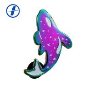 China Custom Design Rainbow Plated Soft Enamel Metal Lapel Pins wholesale