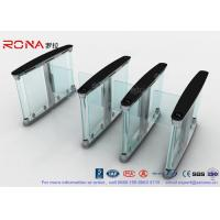 China Polishing Surface Speed Gate Turnstile , Automated Turnstile Entry Systems wholesale