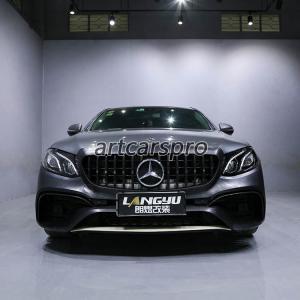 China E63 AMG Look Auto Car Body Kit Mercedes Benz E Class W213 4 Carbon Fiber Doors wholesale