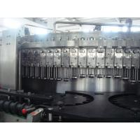 China 5.2KW carbonated drink filling machine / bottling equipments 9,000BPH (500ml) capability wholesale