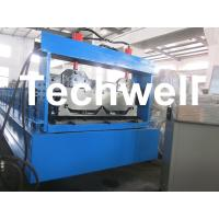 Quality Joint Hidden Roof Panel Roll Forming Machine For Making Standing Seam Roof Panel for sale