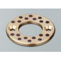 China Solid Lubricant Cast Bronze Bearings Thrust Washer Anti Erosion wholesale