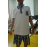 China Short Sleeve Childrens School Uniforms , Boy 2 Piece Boys School Uniforms wholesale