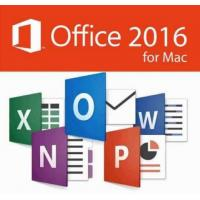 Quality Microsoft MAC Office 2016 Home & Business Full Version For MAC license Online activation for sale